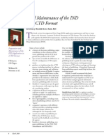 Review Prep and Maint Ind App in Ectd