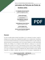 Articulo Laminadora de peliculas de Grafeno...
