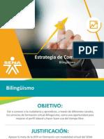 Estrategia de Comunicaciones Bilingüismo