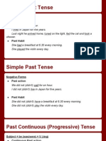 simple past&past continuous