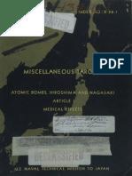 Fallout Patterns in Hiroshima and Nagasaki