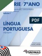 CadernoDoProfessor 2014 Vol1 Baixa LC LinguaPortuguesa EF 6S 7A