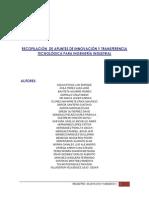 Recopilacion de apuntes de innovación y transferencia tecnológica para ingeniería industrial