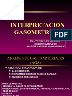 interpretacion gases arteriales ph sanguineo
