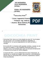 matriz FODA de una imprenta