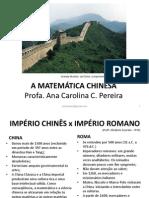 A Matemática Chinesa