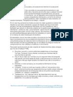 Importancia de Las Redes Sociales y La Revolución de Internet en La Educación.