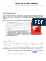 Google Drawings for Graphic Organizers