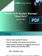 PI Training Course Modificado