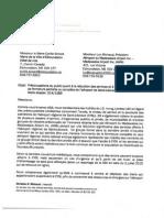 Lettre - C. Simard Et L. Michaud 20 Juillet 2015 (Finale)