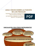 Directrices Sobre La Función de Los Fiscales