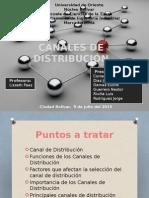 Canales de Distribucion de mercado