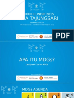 Sosialisasi MDGs Desa Tajungsari