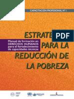 Manual de Formación en Derechos Humanos y para el Fortalecimiento de las Capacidades Técnicas