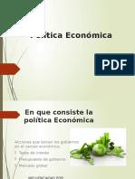 Politica Economica Presentacion Galileo