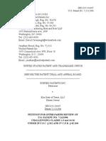 IPR 2015-01607 Elia Data - Petition