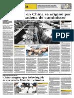 White Rabbit y La Crisis de La Leche China