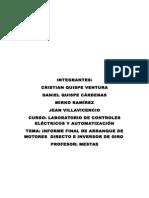 Informe Final de Arranque de Motores Directo e Inversion de Giro