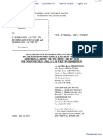 Amgen Inc. v. F. Hoffmann-LaRoche LTD et al - Document No. 507