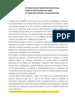 Curso Para Promotores Deportivos Del Sistema de Responsabilidad Penal