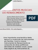 Historia Da Musica - Instrumentos Renascença