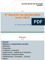 4a REUNION 2015 5° BASICO