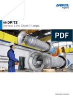 Andritz Vertical Line Shaft Pumps