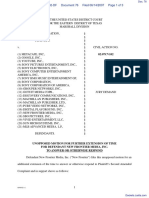 Antor Media Corporation v. Metacafe, Inc. - Document No. 76