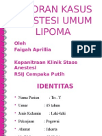 Lapkas Anestesi Lipoma