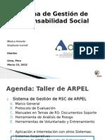 Taller de ARPEL_Peru_Sistema RS