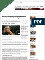 Harry Reid Jobs Bill