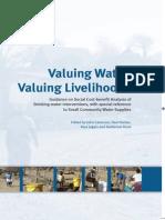 Valuing Water, Valuing Livehoods