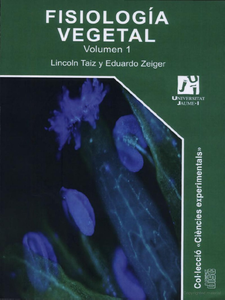 Fisiologia Vegetal Lincoln Taiz Y Eduardo Zeiger Pdf
