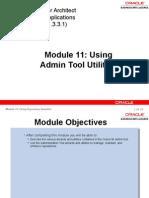 16Using Admin Tool Utilities.ppt