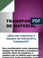1Trans de Material Generalidades