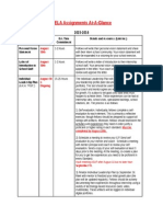 assignments at a glance 15 16 principal residency