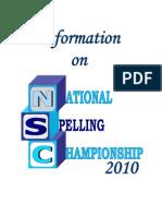 Nsc Info Booklet Spelling