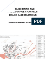 Karachi Rains Drainage Issues Solutions by Arif Hasan