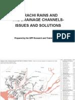 Karachi Rains Drainage Issues Solutions by Arif Hasan