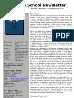 Newsletter 18.2.10