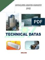Technical data of AAC brick from Liem Tin
