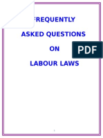 Frequently Asked Questions on Labour Laws