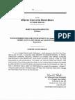 Washington v. William Morris Endeavor Entertainment, LLC et al. -- Supreme Court Certificate of Service [July 18, 2015]