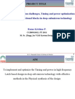 Pre-project Presentation RamakrishnaModified