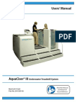 AquaCiser III Manual-Under Water Treatment User