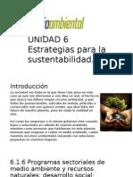 UNIDAD 6 Desarrollo Sustentable