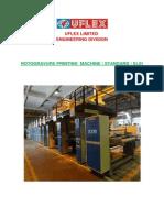 Rotogravure Printing Machine Standard (ELS)