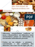Propriedades Funcionais de Mono e Oligossacarídeos