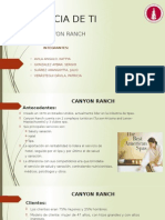 Caso Canyon Ranch Tecnología de Informacio´n