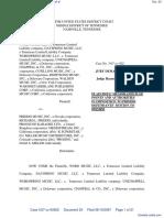 Word Music, LLC et al v. Priddis Music, Inc. et al - Document No. 23